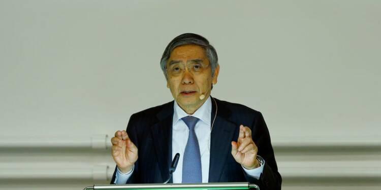 Kuroda (BoJ) laisse planer la possibilité d'un dénouement du QQE