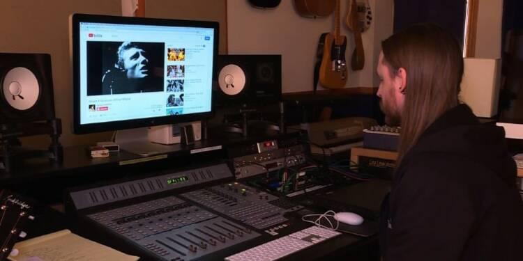 Le studio de Johnny aux USA rend hommage au