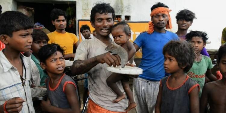 En Inde, la vie de misère des