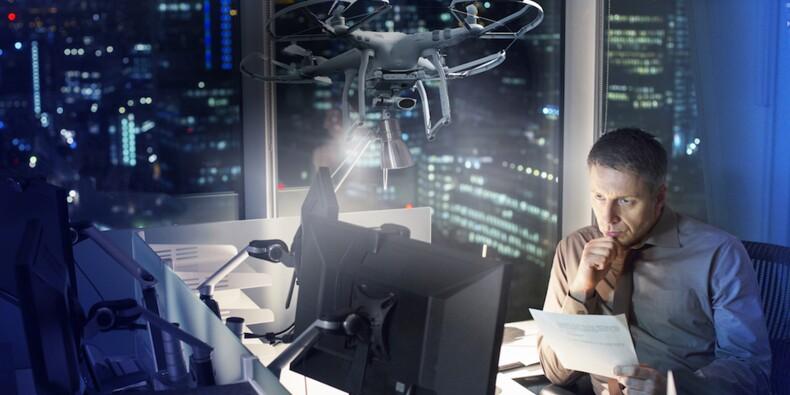Pour éviter les burn-out, une entreprise japonaise propose… un drone
