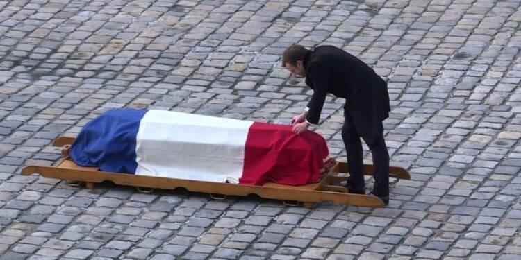 Dernier hommage de la France à Jean d'Ormesson