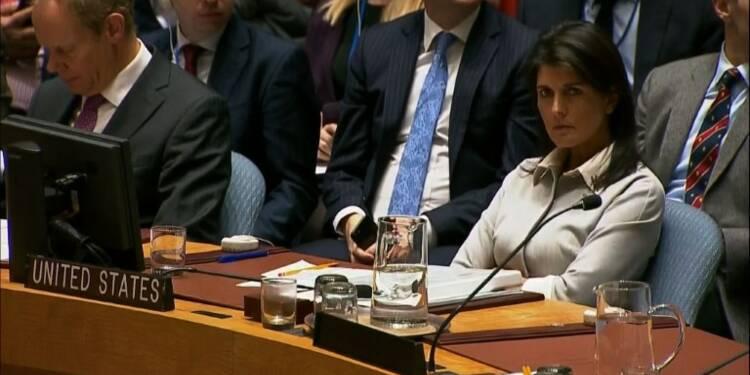 Jérusalem: les Etats-Unis plus que jamais isolés à l'ONU