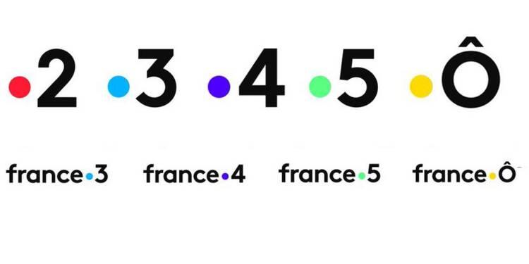 Voici les nouveaux logos à 240.000 euros de France Télévisions