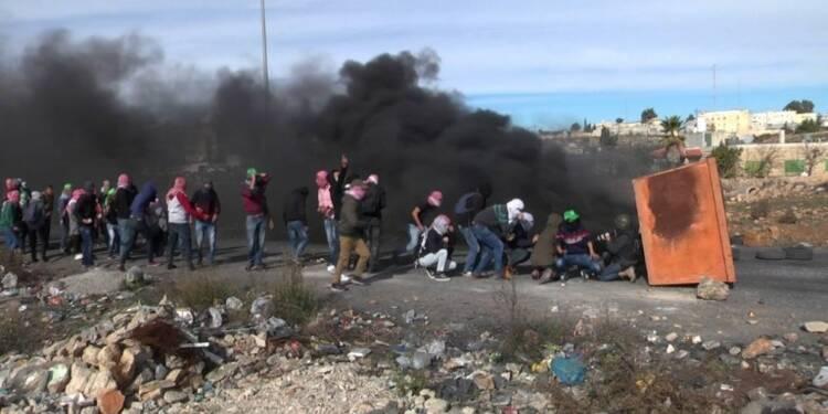 Heurts entre Palestiniens et forces israéliennes en Cisjordanie