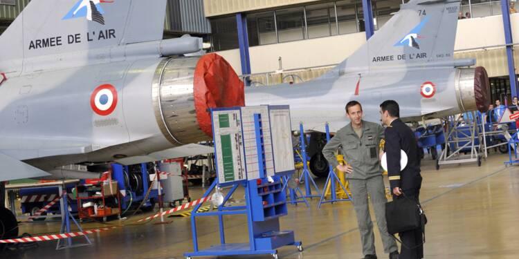 Plus d'un avion militaire sur deux au garage