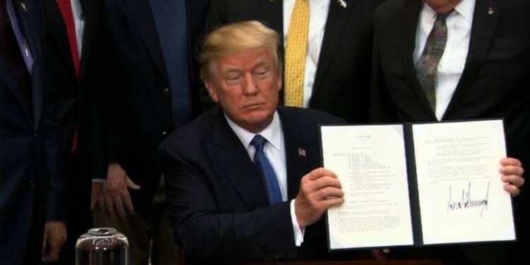 Trump veut renvoyer des hommes sur la Lune