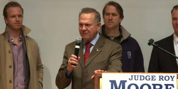 Election en Alabama: Roy Moore ne reconnaît pas sa défaite