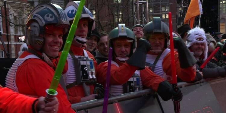 Première européenne à Londres de Star Wars 8: Les Derniers Jedi