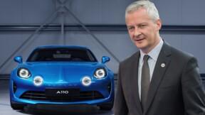 Alpine A110 : Bruno Le Maire à Dieppe pour inaugurer l'usine de production