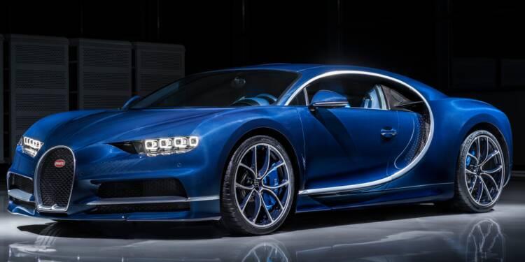 Bugatti :  à eux seuls, ses sièges valent deux Twingo !
