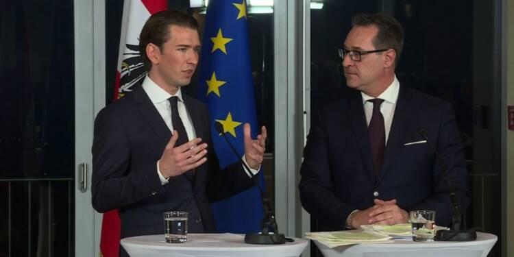 Autriche : l'extrême droite en force au gouvernement