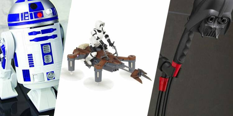 """Dix objets insolites pour les fans de """"Star Wars"""""""
