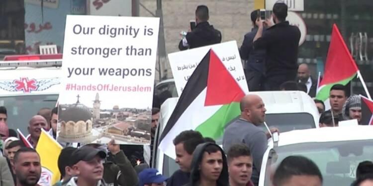 Nouvelles manifestations de Palestiniens pour Jérusalem