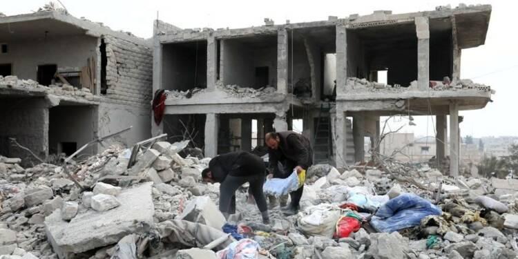 Syrie: 19 civils dont 7 enfants tués dans des raids nocturnes