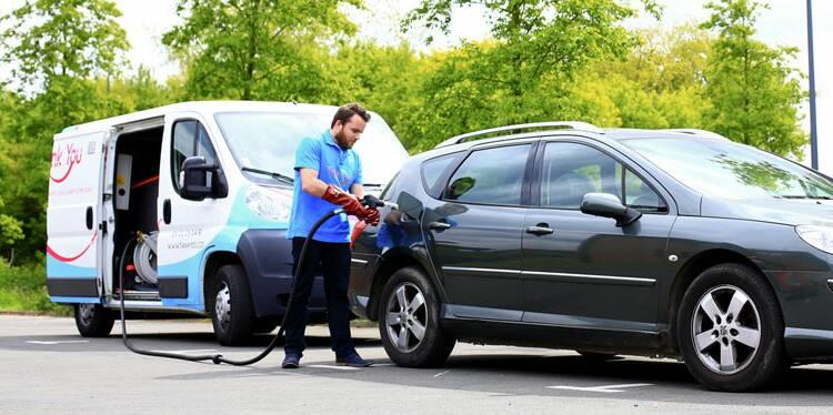 Tank You : la start-up qui vient vous livrer l'essence