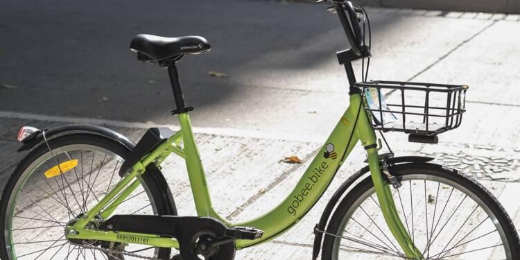 Avec ses vélos sans borne, Gobee.bike veut ringardiser le Vélib'