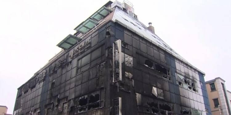 Corée du Sud: enquête après l'incendie d'un immeuble, 29 morts