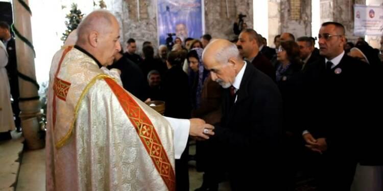 A Mossoul, 1ère messe de Noël après trois ans de règne jihadiste