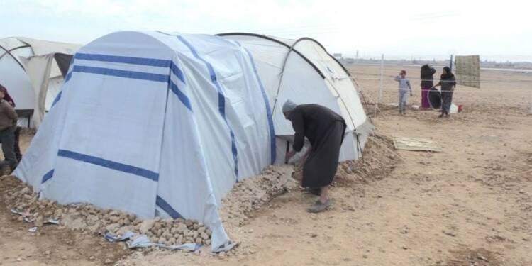 En Syrie, des survivants de la guerre à la merci du froid