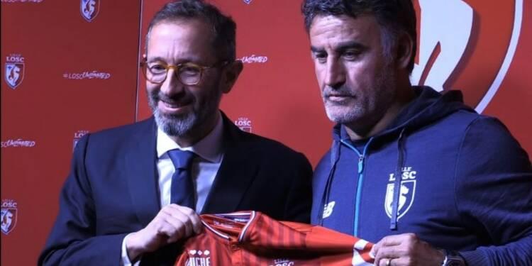 Foot: Galtier prend ses fonctions d'entraîneur à Lille