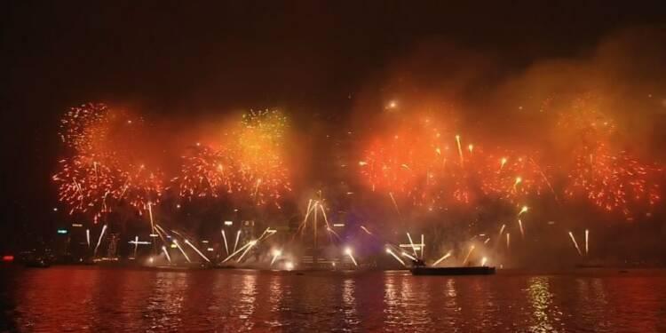 Hong Kong fête le passage en 2018