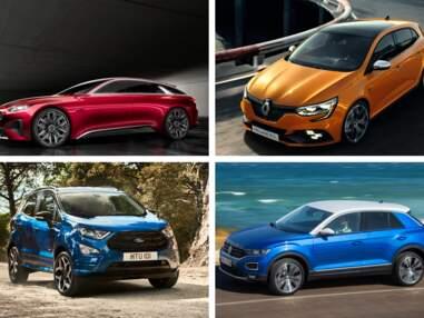 Tour d'horizon, en images, des voitures qui vont marquer l'année 2018