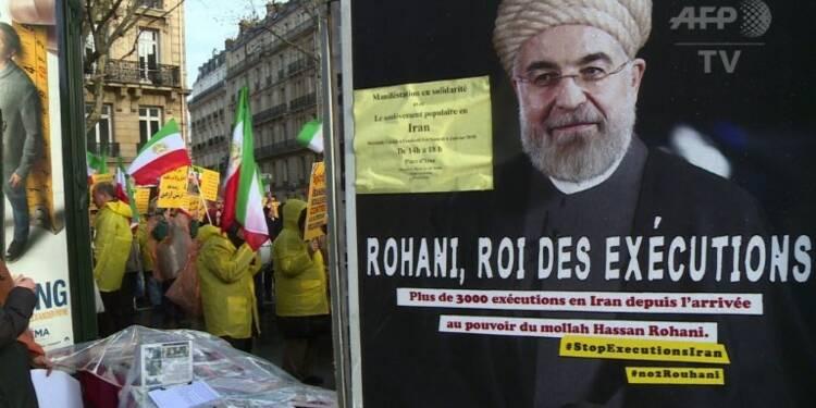 Iran: manifestation à Paris des Moudjahidine du peuple