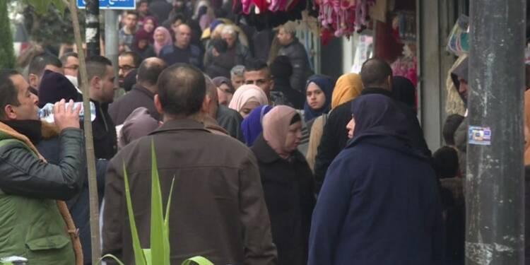 Menaces de Trump: des habitants de Ramallah réagissent