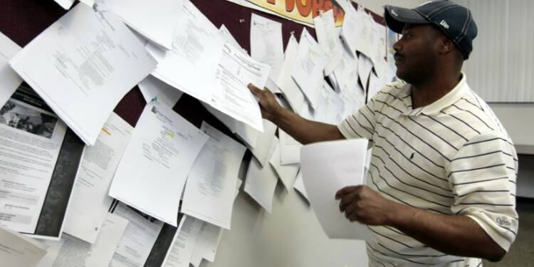 250.000 des inscriptions au chômage aux États-Unis la semaine dernière