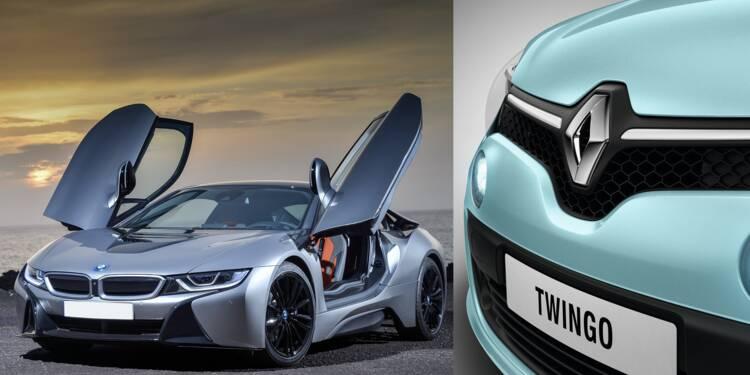 Twingo d'occasion ou BMW ? Découvrez dans quelles voitures roulent nos ministres