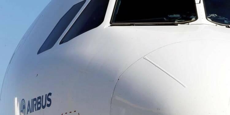 Airbus discute de la vente d'au moins 100 avions à la Chine