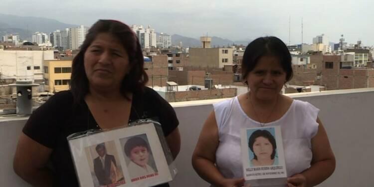 Pérou: les familles en colère après la grâce de Fujimori