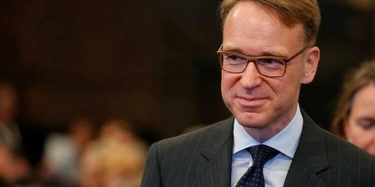 Weidmann (BCE) voudrait une date précise pour la fin du QE