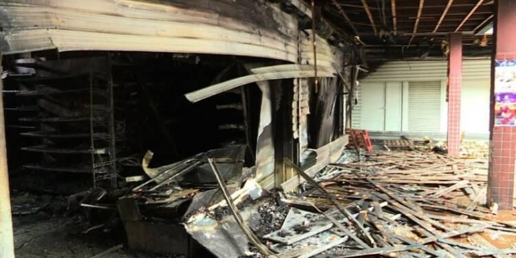 Incendie d'une épicerie casher: Réactions à Créteil
