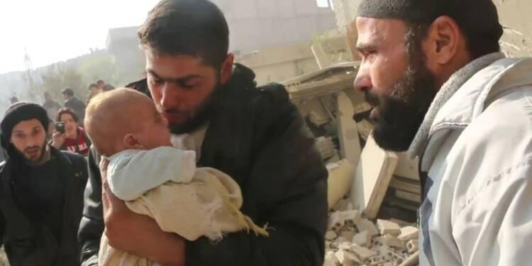 Au moins quinze tués dans des bombardements près de Damas (ONG)