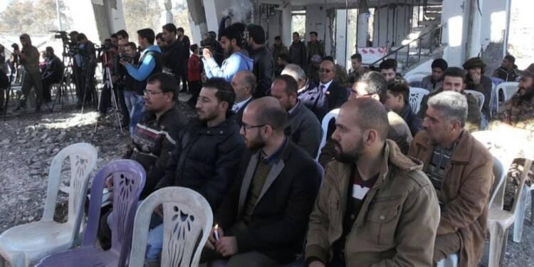 Messe de Noël dans l'ex-fief des jihadistes en Syrie