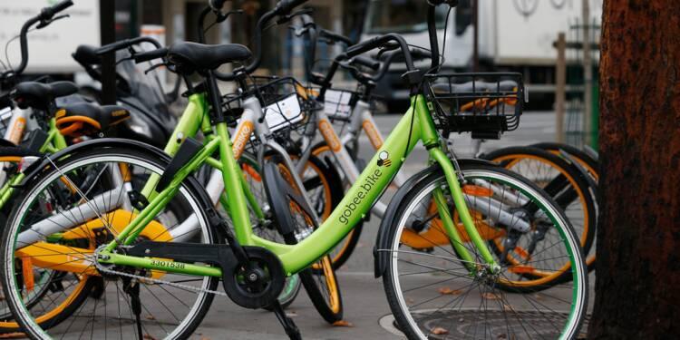 Gobee.bike se retire de Lille, Reims et Bruxelles — Vélos partagés