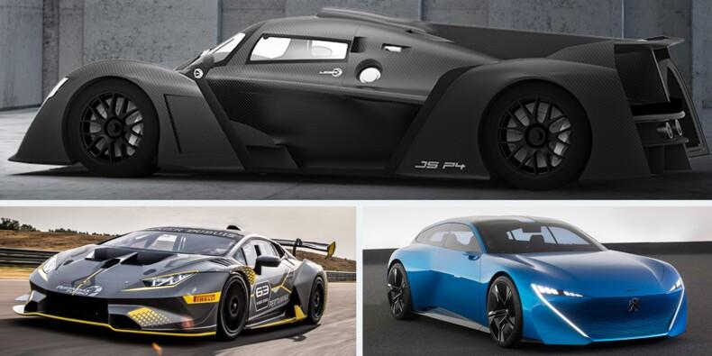 Découvrez les concept-cars du 33ème Festival Automobile International
