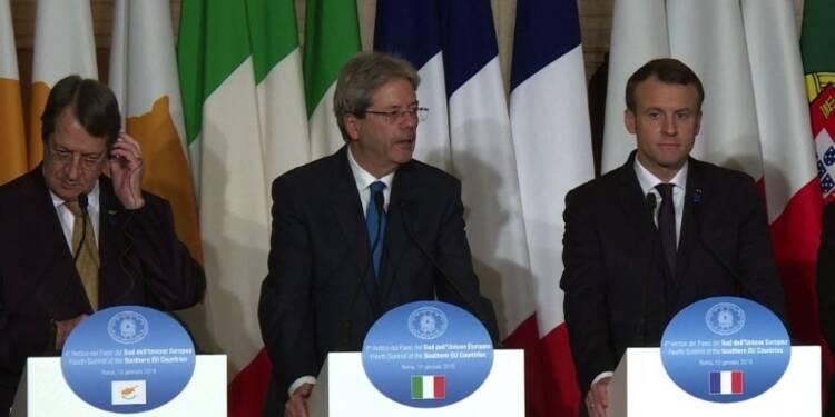 Rome: mini-sommet du sud de l'UE face au défi migratoire
