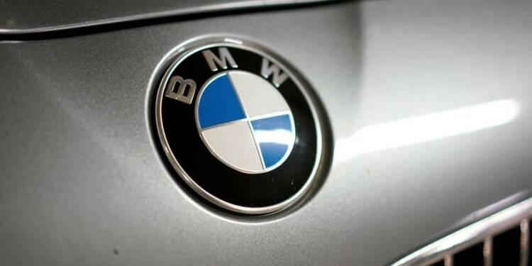 Ventes records en 2017 pour BMW, mais Mercedes conserve l'avantage