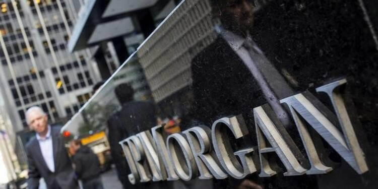 JPMorgan bat le consensus malgré une charge fiscale