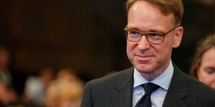 Weidmann (BCE) minimise l'hypothèse d'une prochaine hausse de taux