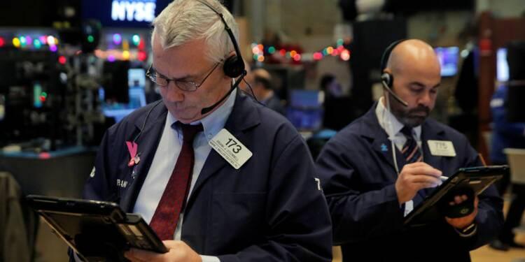 Hésitations après des résultats en demi-teinte — Wall Street