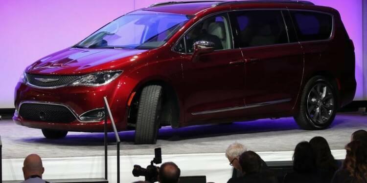 Fiat Chrysler rappelle 162.000 minivans