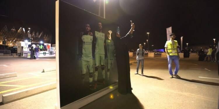 Des Saoudiennes pour la première fois au stade pour un match