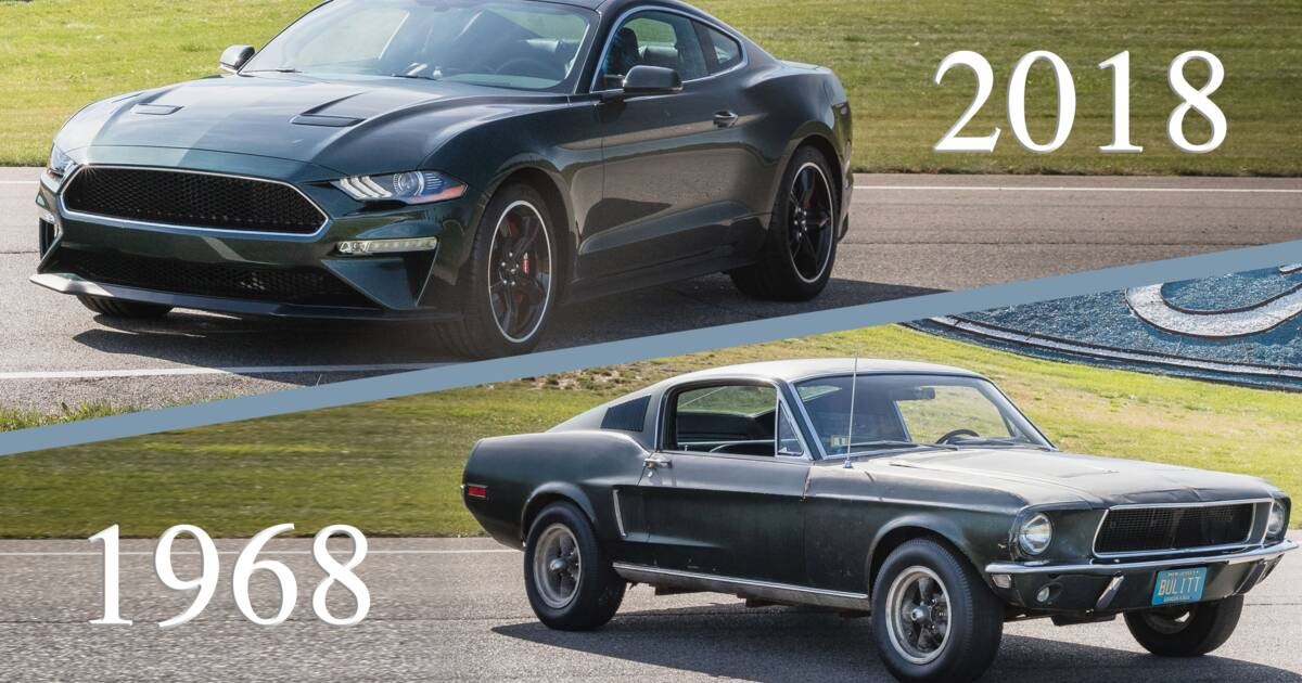 ford mustang bullitt 2018 50 ans apr s ses d buts avec steve mcqueen voici la nouvelle. Black Bedroom Furniture Sets. Home Design Ideas