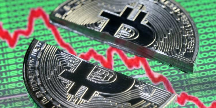 Marchés Le bitcoin chute de 50% sous son pic de décembre