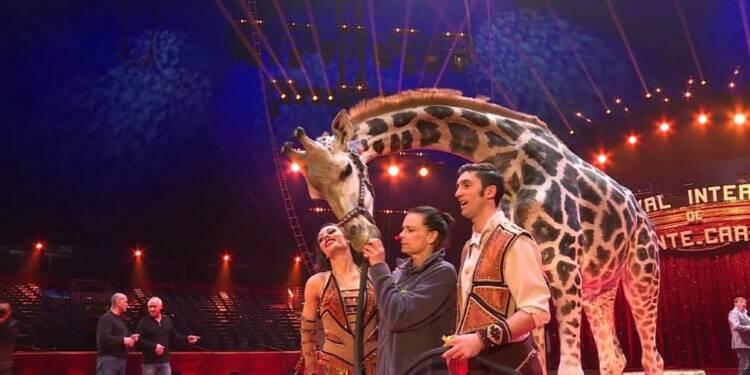 A Monaco, les animaux rois du cirque malgré les polémiques