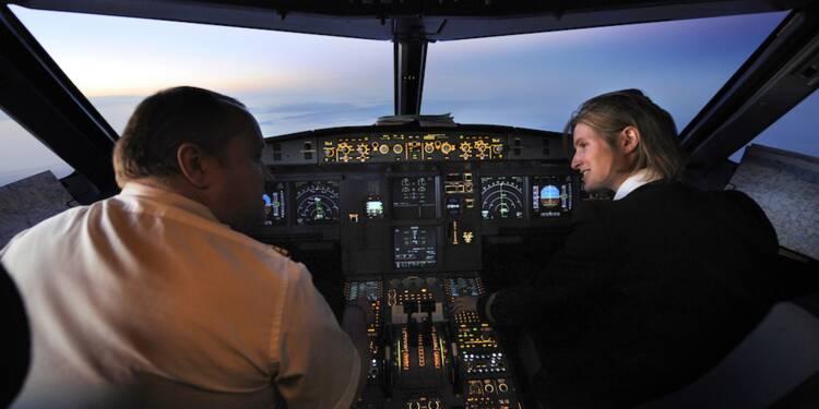 Devenir pilote Air France en deux ans sans formation préalable ? C'est possible... et pas cher