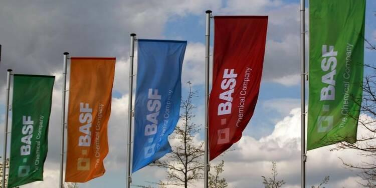 BASF: EBIT augmente de 36% en 2017 grâce à la chimie de base